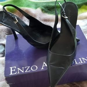 Vintage Pointed Toe Heels By Enzo Angiolini Sz 9.5